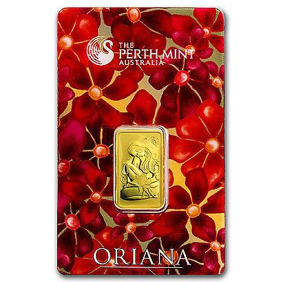 1 Trusted Seller 10 Gram Gold Bar Perth Mint Oriana Design In Assay Sku 23561 Goldfever Gold Fever Gold Bullion Coins Buy Gold And Silver Gold Bar