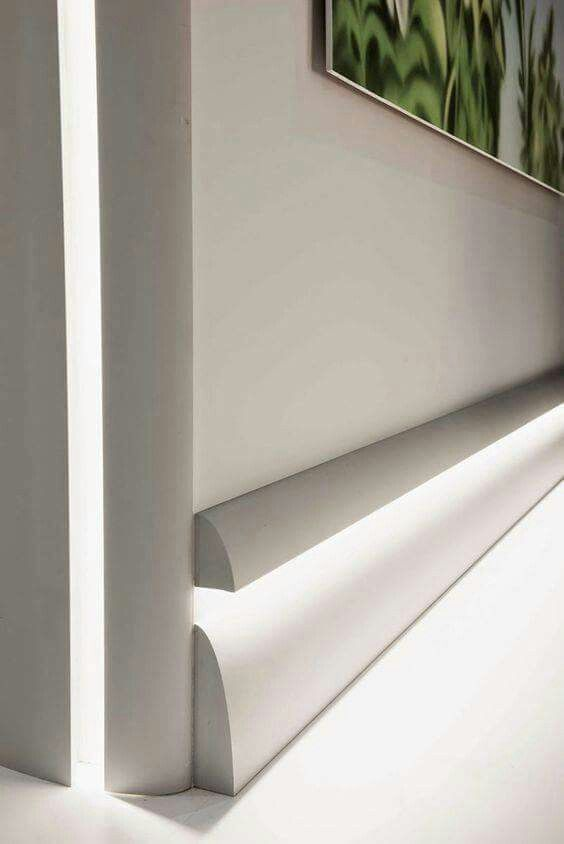 Baseboard Night Light With Images