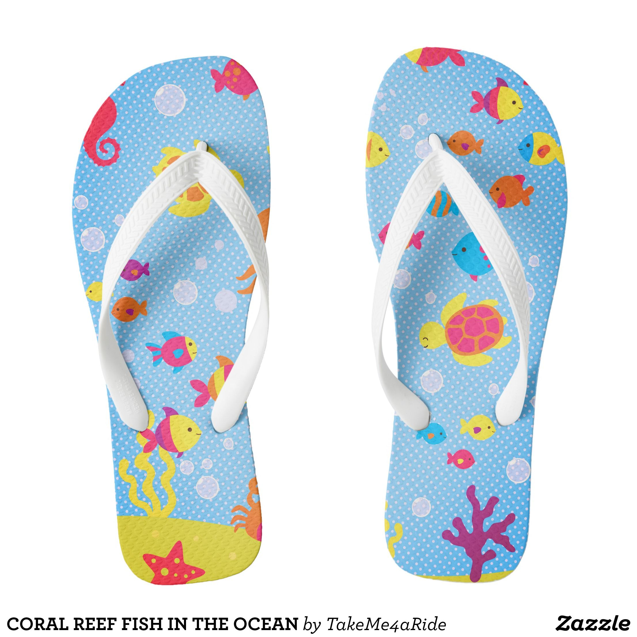 a72bc0507e768 Coral reef fish in the ocean flip flops canvas top rubber sole athletic jpg  2212x2212 Fish