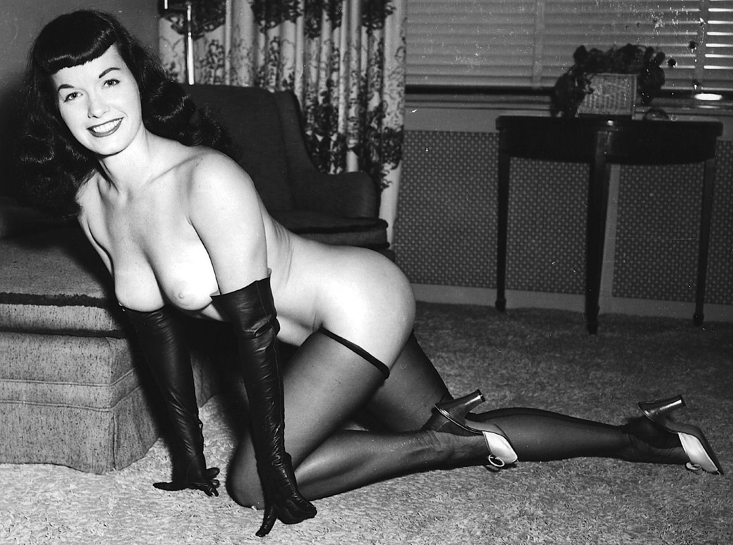 from Dorian betty page nude sex