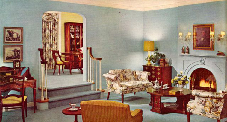 36 Beautiful Photos That Show the 1960s Home Decoration ...