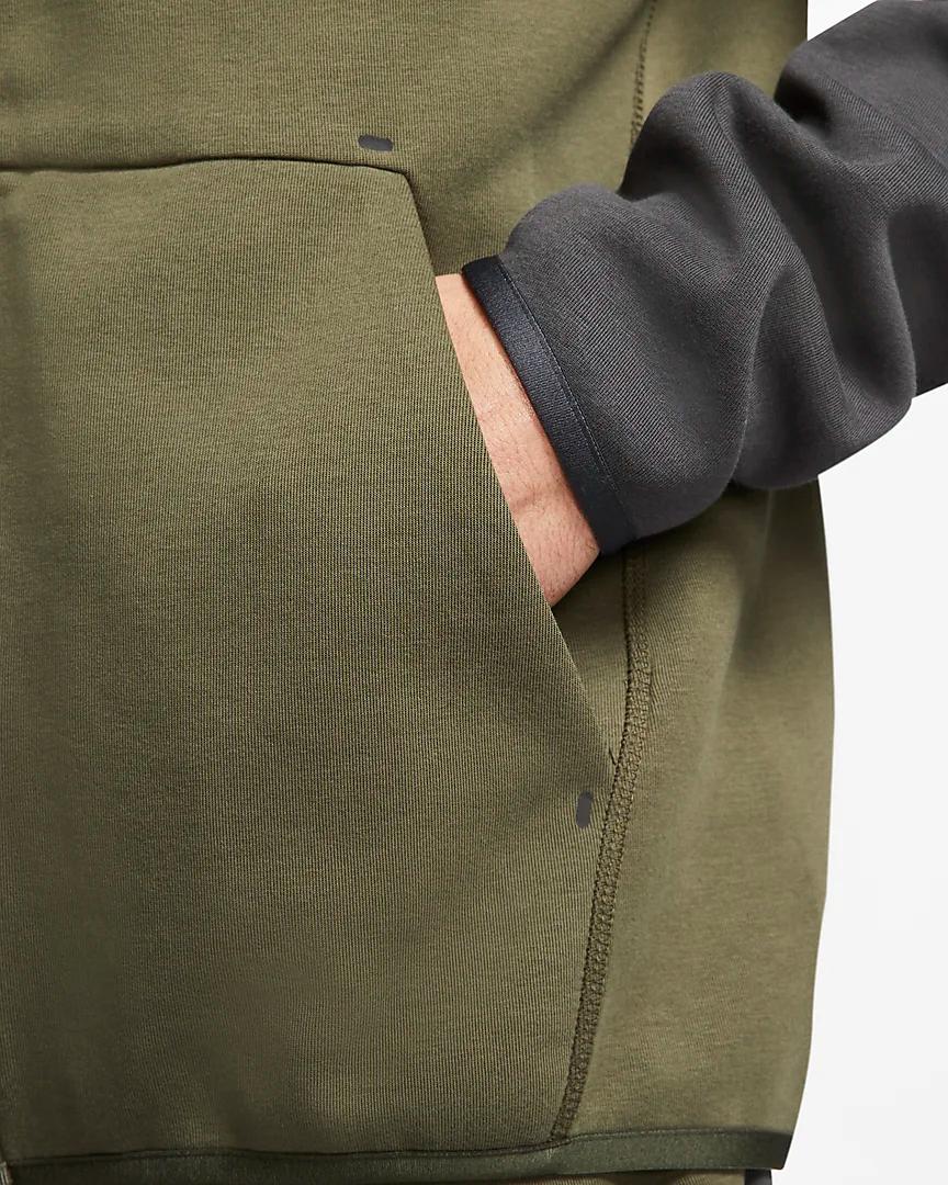 Nike Sportswear Tech Fleece Men S Full Zip Hoodie Nike Com In 2020 Tech Fleece Tech Fleece Hoodie Full Zip Hoodie
