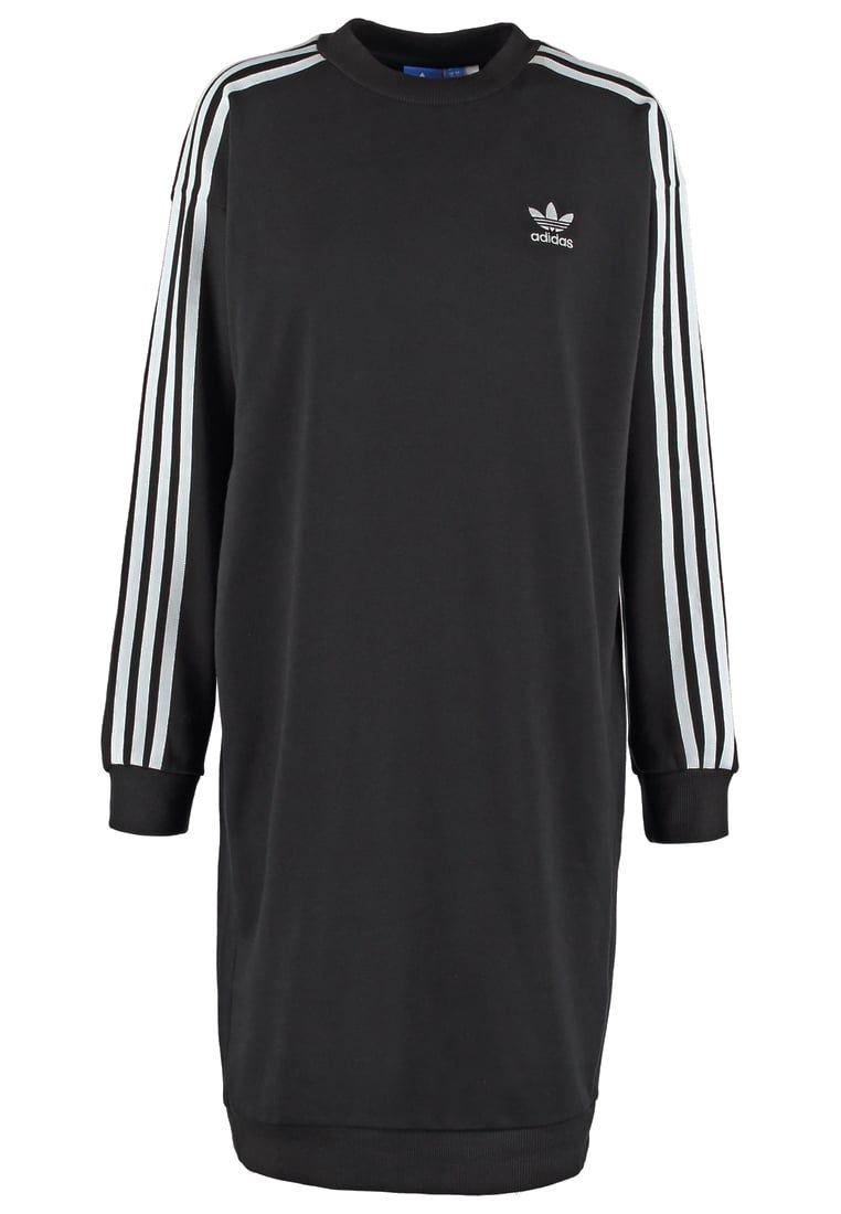 715afeb684 adidas Originals Sukienka z dżerseju - black za 269 zł (21.10.16) zamów  bezpłatnie na Zalando.pl.