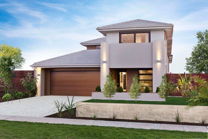 Facades | Double Storey | House Plans | Home Designs | Custom Home ...