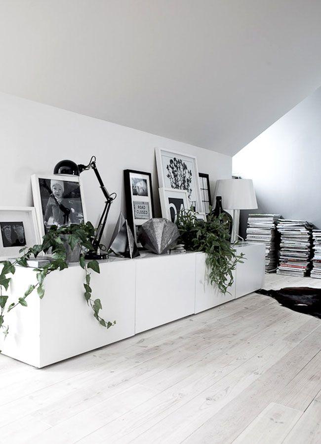 Livingroom sideboard #plants    HarperandHarley