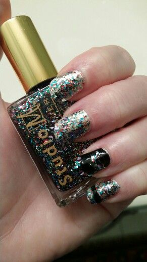 "New Year's Eve nail polish. ""Wish upon a Rockstar"""