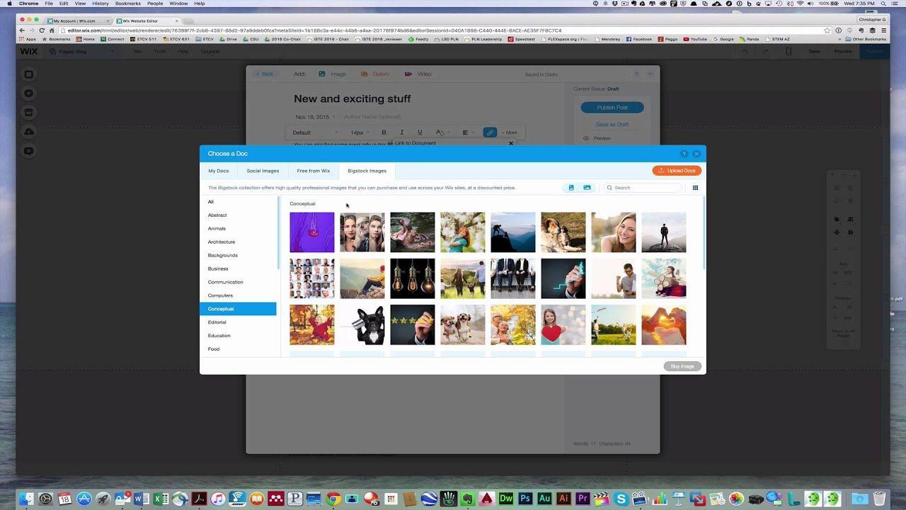 Adding A Web Link Or Pdf File To A Wix Blog Post Wix Blog Posts Blog