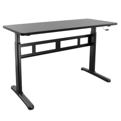 Mount It Mi 7981 Sit Stand Desk Black Office Depot In 2020 Sit Stand Desk Desk Tabletop Standing Desk