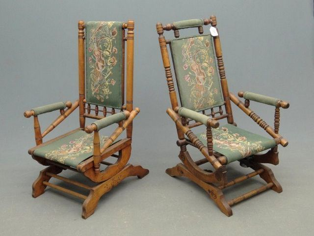 platform rocking chairs  Antique  Pinterest  Rocking chairs ...