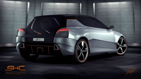 Super Hatchback Concept Combo Between A Hatchback And A Supercar