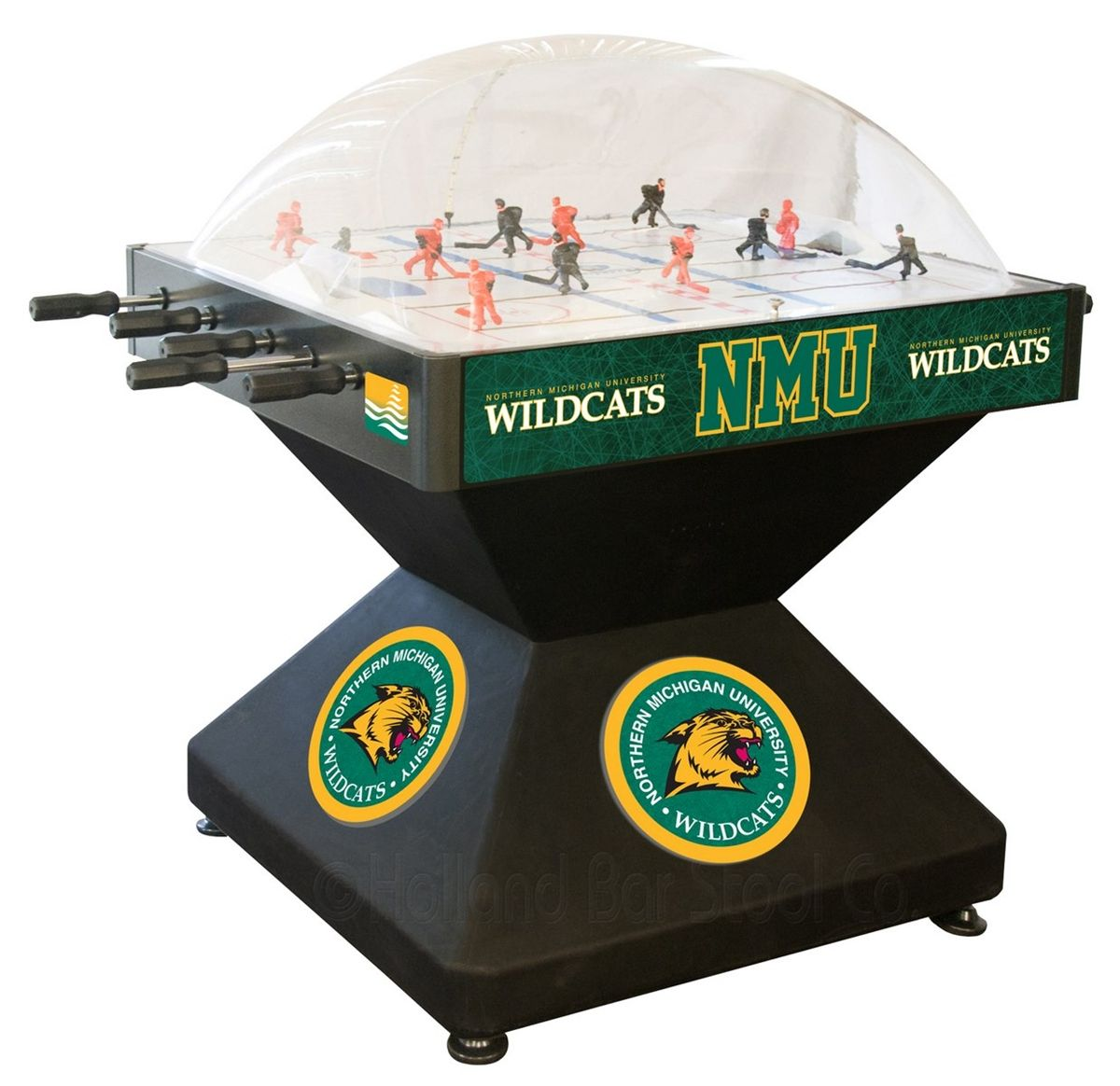 Northern Michigan Wildcats Dome Hockey Table from