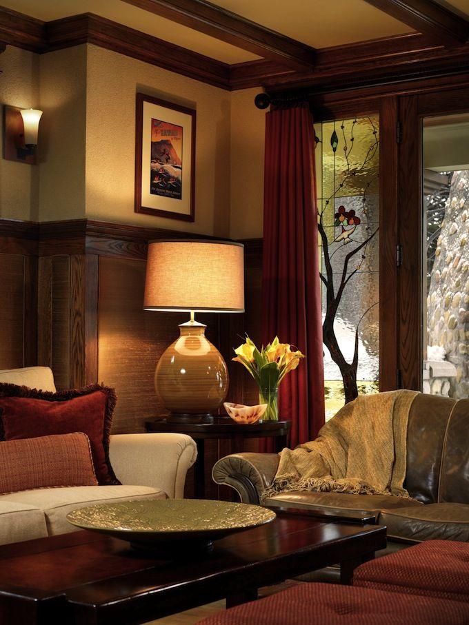 Arts And Craft Interior Design Craftsman Living Rooms Elegant