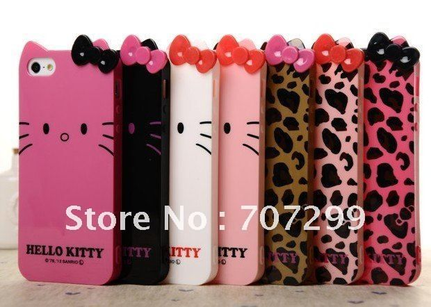 0e3fceee8 hello kitty i phone 5g cover | Leopard Hello Kitty Case for iPhone 5 5th  5G, TPU Gel Cover Skin Case .