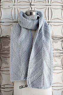 Carpenter S Run Scarf Pattern By Jocelyn Tunney Knitted Scarves N