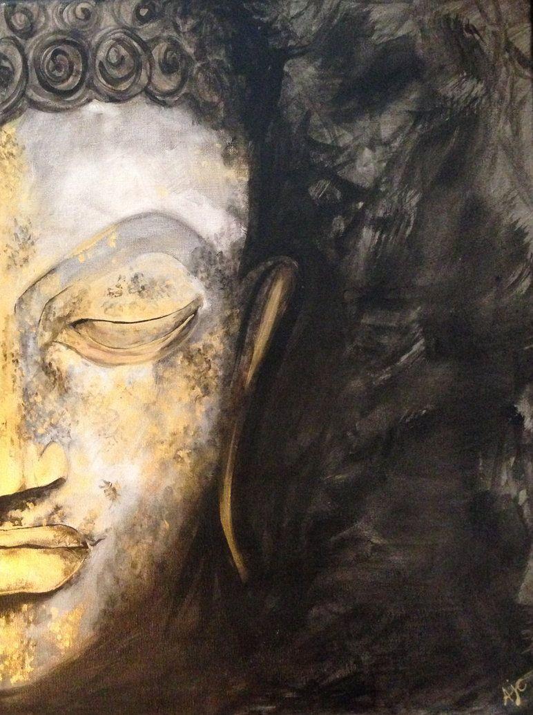 Buddha face by ~Alicia Durham