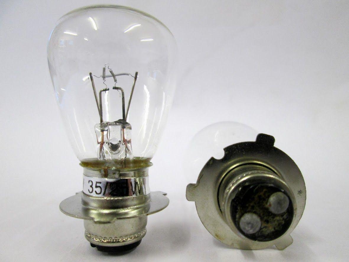 6 Volt 25 25w Rp30 Motorbike Headlight Bulb P7007
