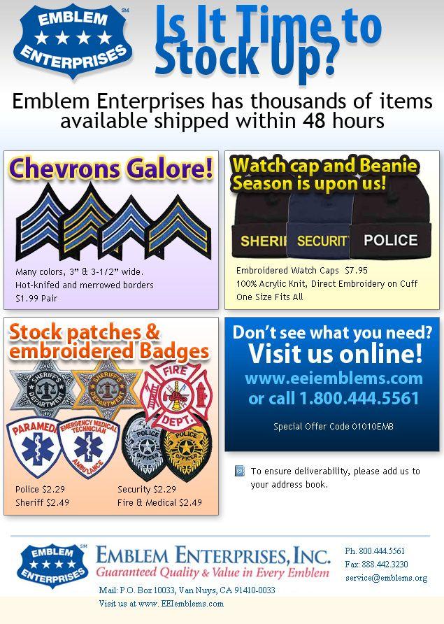 Emblems Enterprises - General Marketing