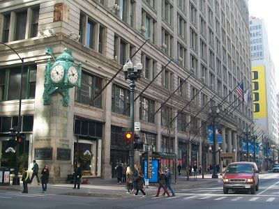 Filming Locations Of Chicago Curly Sue Marshall Field Building