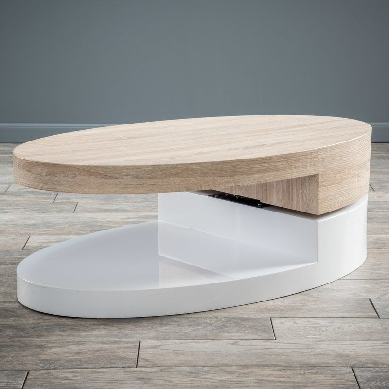 Wade Logan Delwood Coffee Table & Reviews