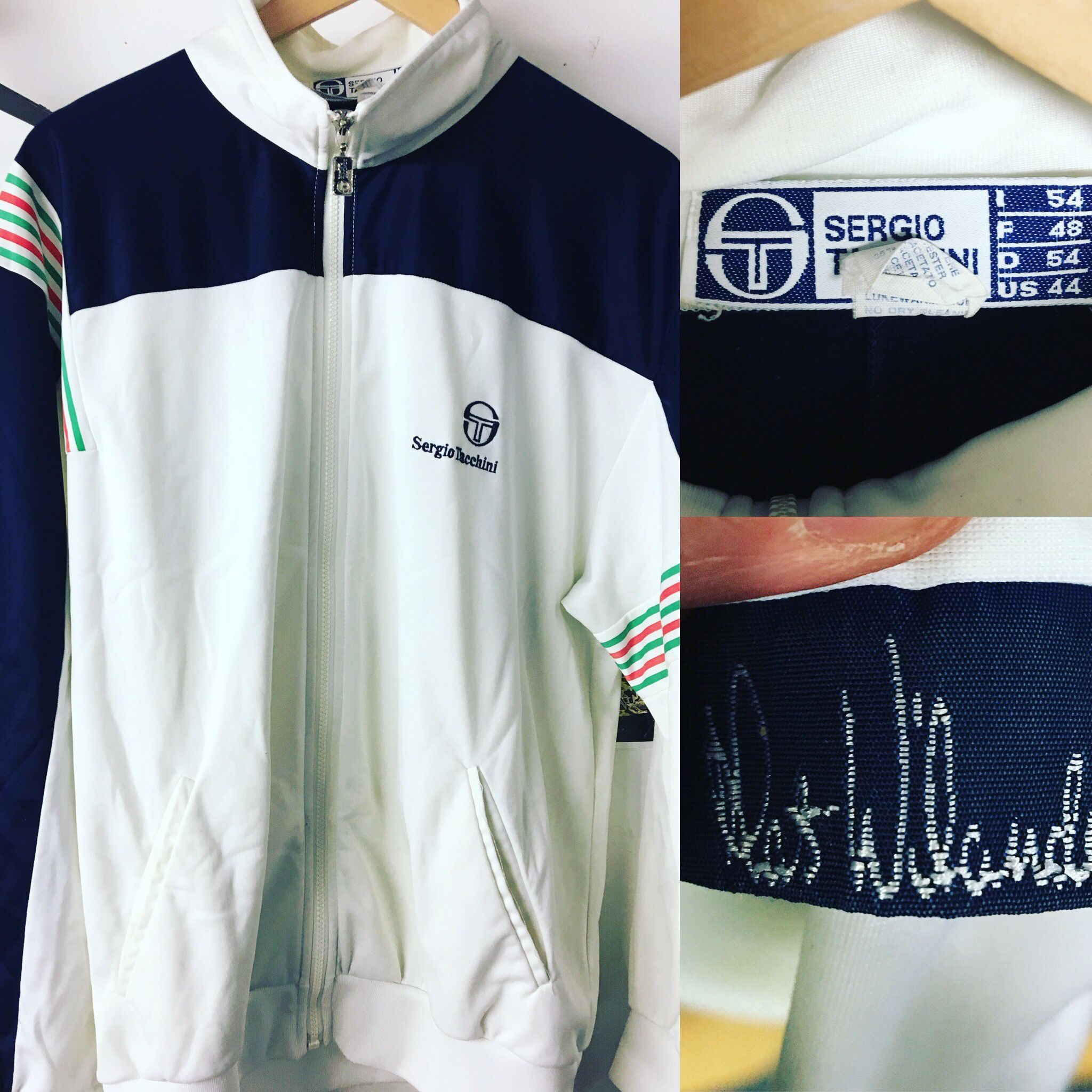 011fe7f3716ea8 Mats Wilander 80s Casuals Tennis made in Italy sergio Tacchini ...