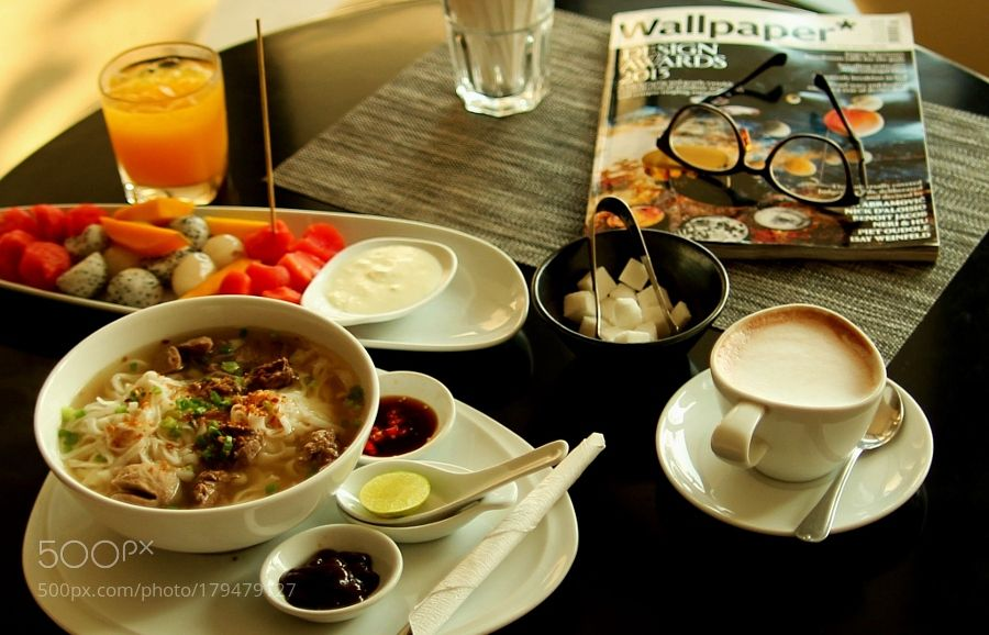 Popular on 500px : Oriental Breakfast by hyhyhy