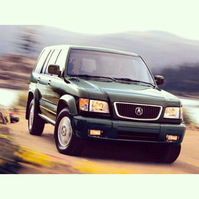 A Throwback To Acura's First SUV To Enter The US Market