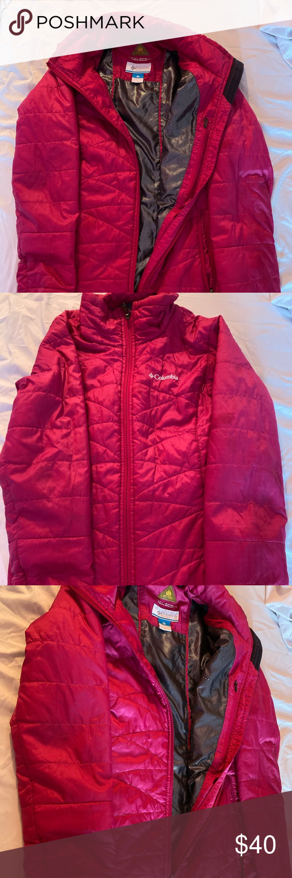 Pink Columbia Jacket | Columbia jacket, Jackets, Clothes ...