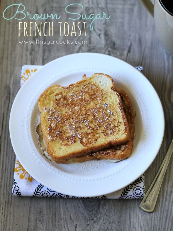 Brown sugar french toast from thisgalcooks breakfast brown sugar french toast from thisgalcooks breakfast frenchtoast perfect ccuart Images