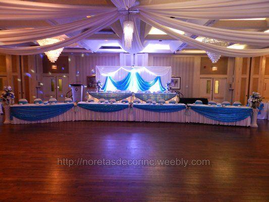 reception hall decorations Wedding Pins Pinterest Receptions