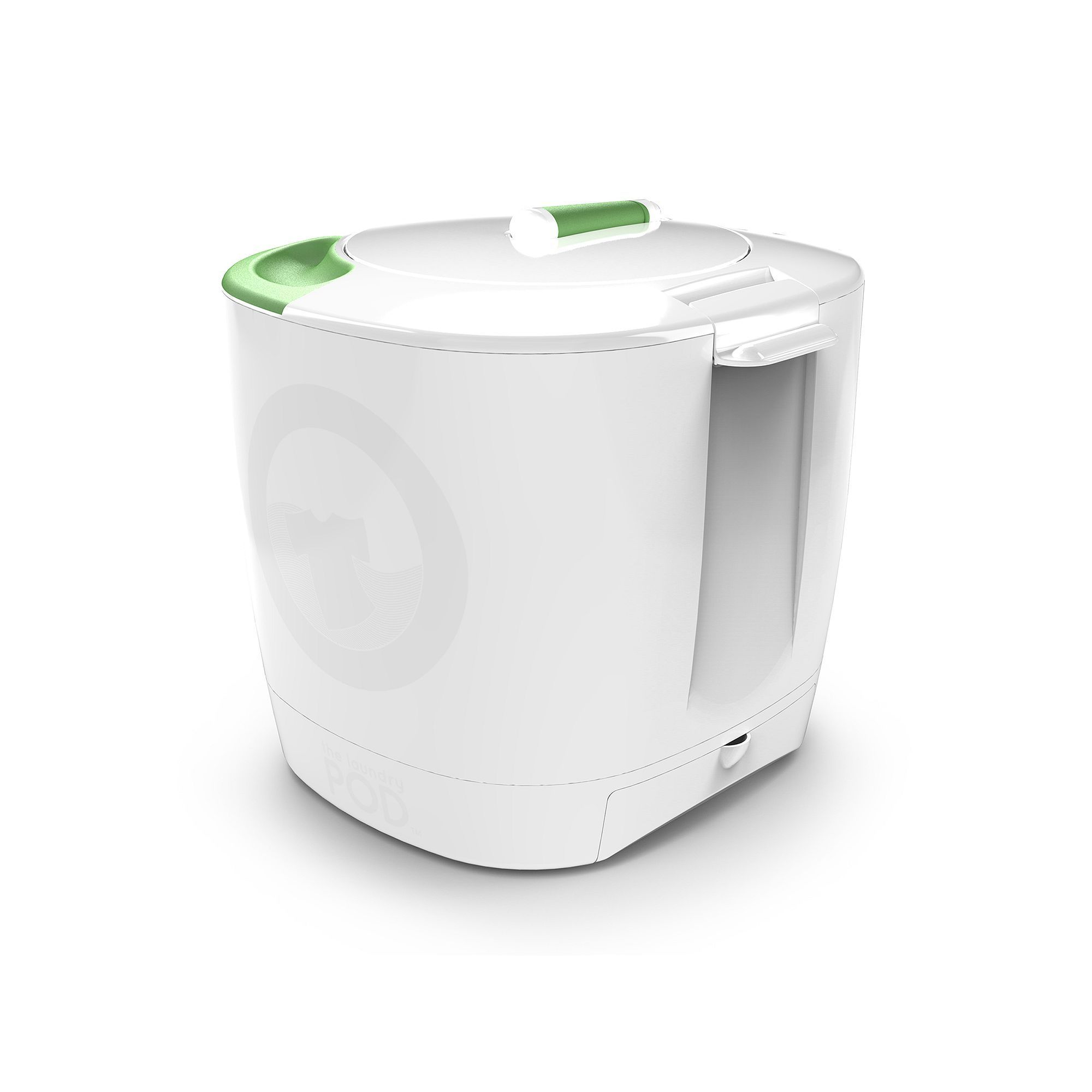 The Laundry POD Non Electric Portable Clothes Washer, White