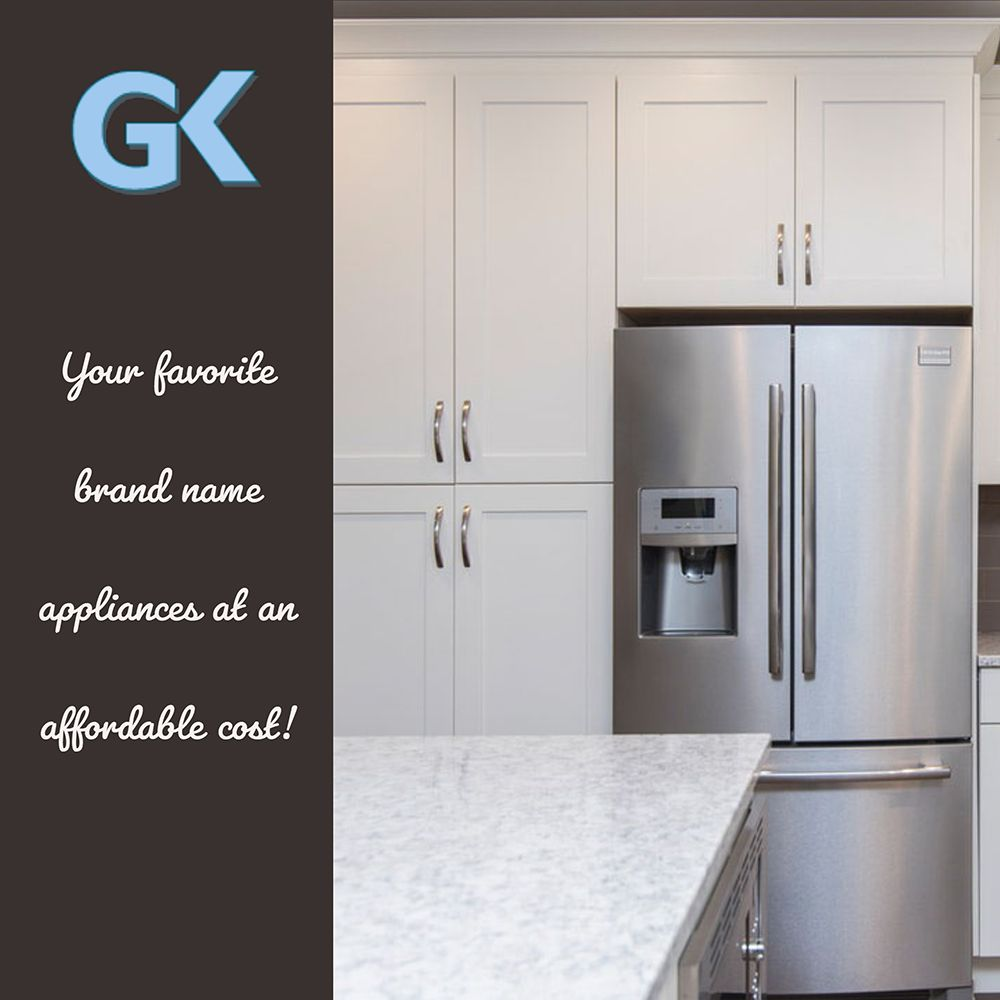 Check Out Or Brands Georgia Kitchens Has All Of Your Favorite Brand Name Appliances Georgia Kitchen Domestic Appliances Updated Kitchen Kitchen Appliances