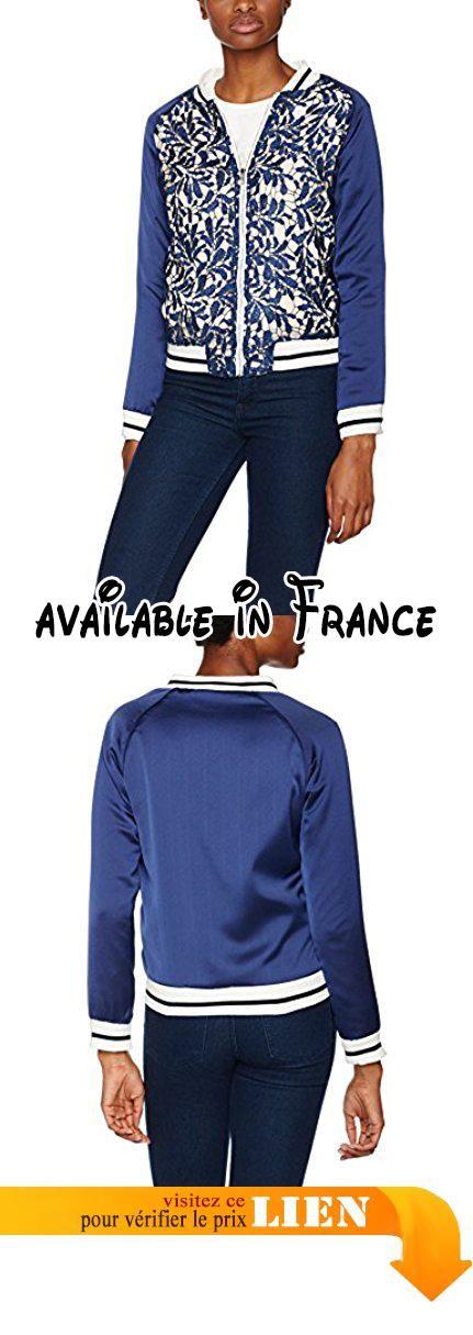 Veste bleu marine avec coudiРіС're