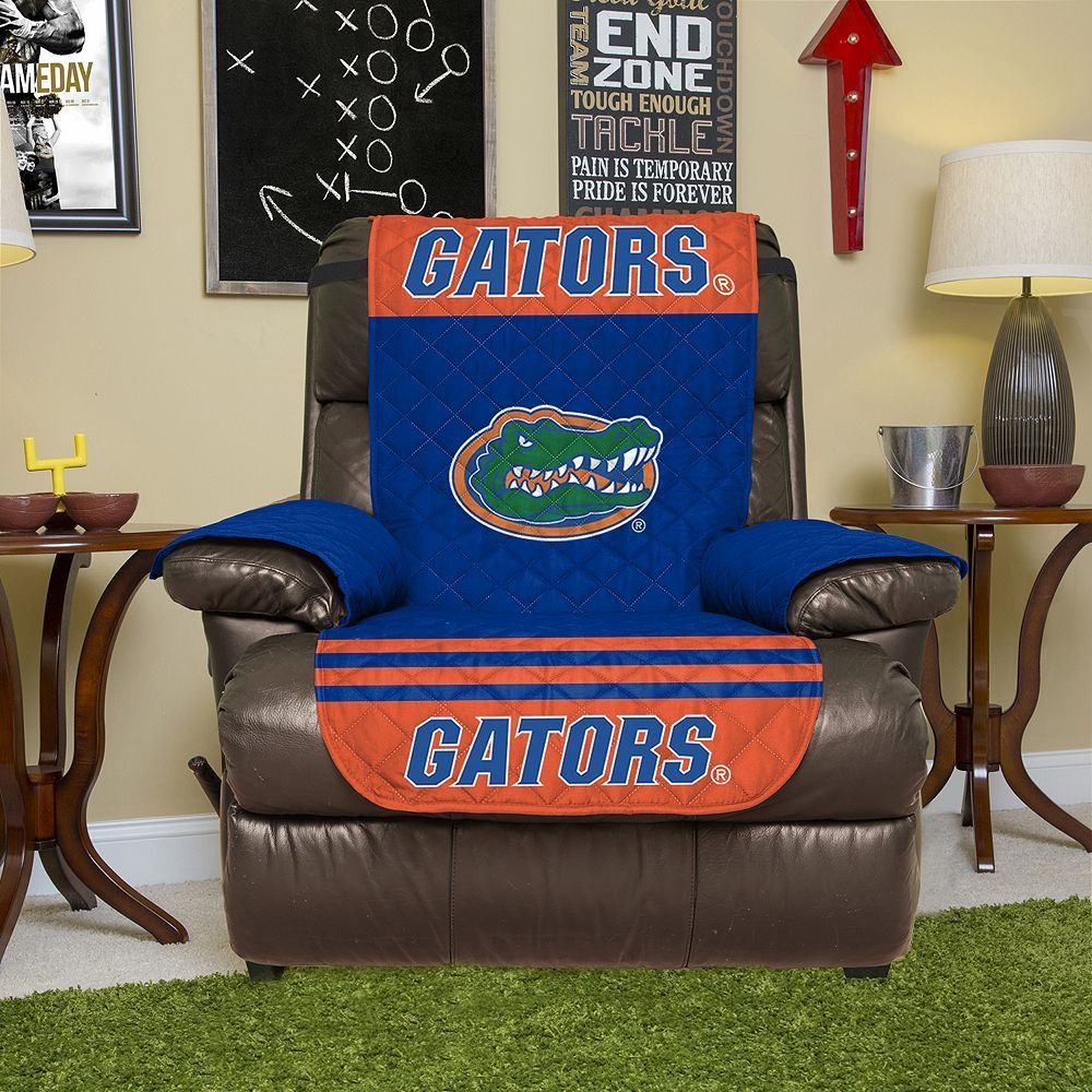 Recliner · Florida Gators Quilted Recliner Chair Cover ...