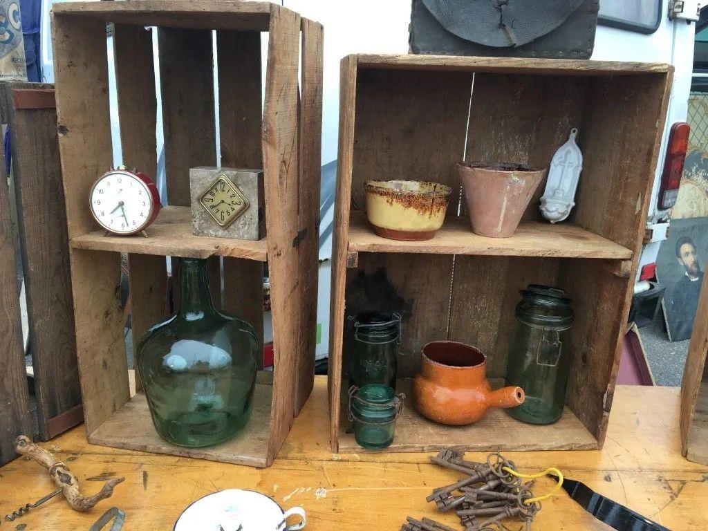 Antique Market Vintage Terracotta Pots
