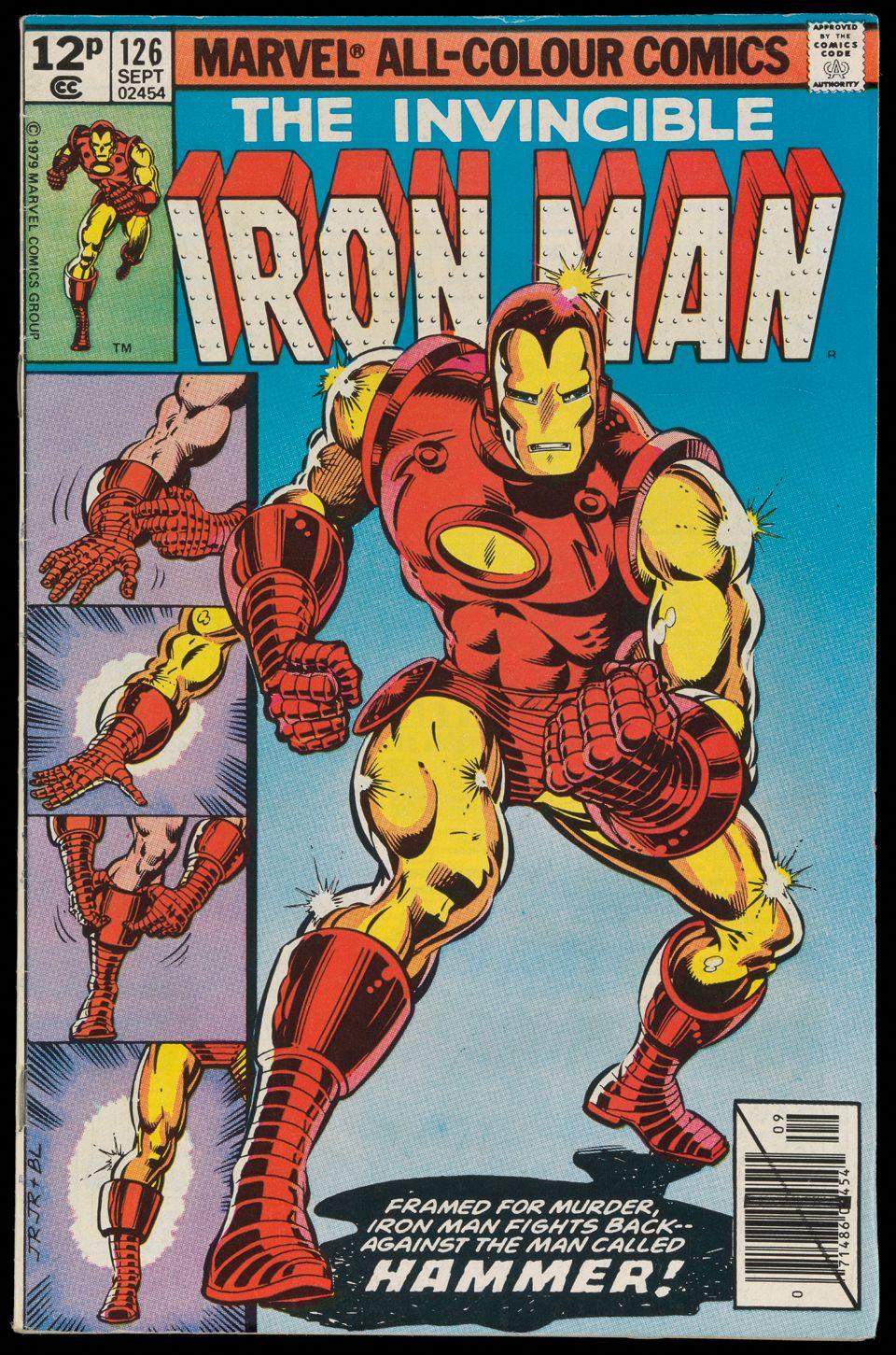 The Invincible Iron Man   Comic Portadas   Pinterest