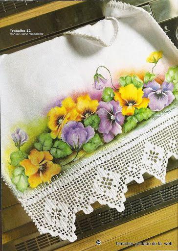 Pintura em Tecido_1 - Rosane Al - Álbuns da web do Picasa