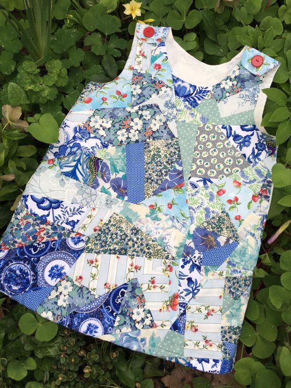 Girls pinafore dress toddler dress floral girls by TwigandPosy