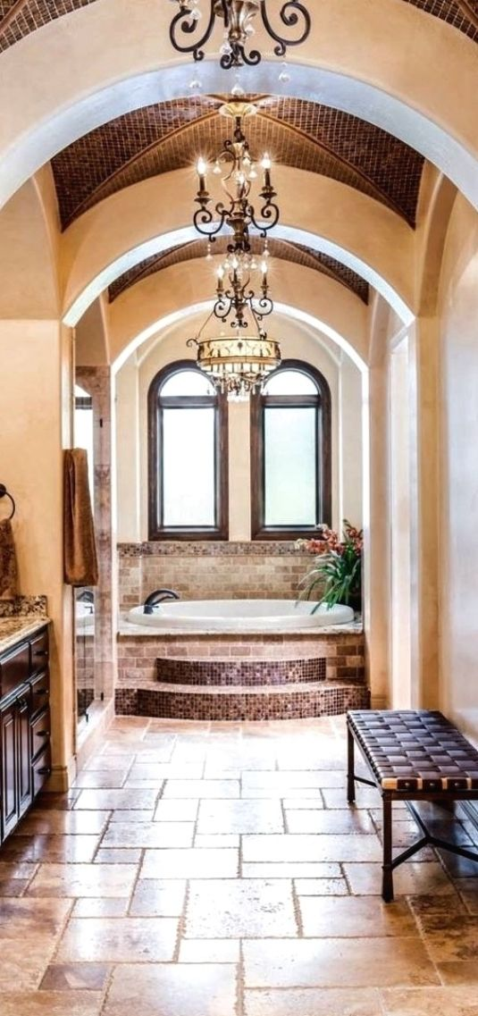 Photo of 25 Mediterranean Bathroom Designs To Cheer Up Your Space