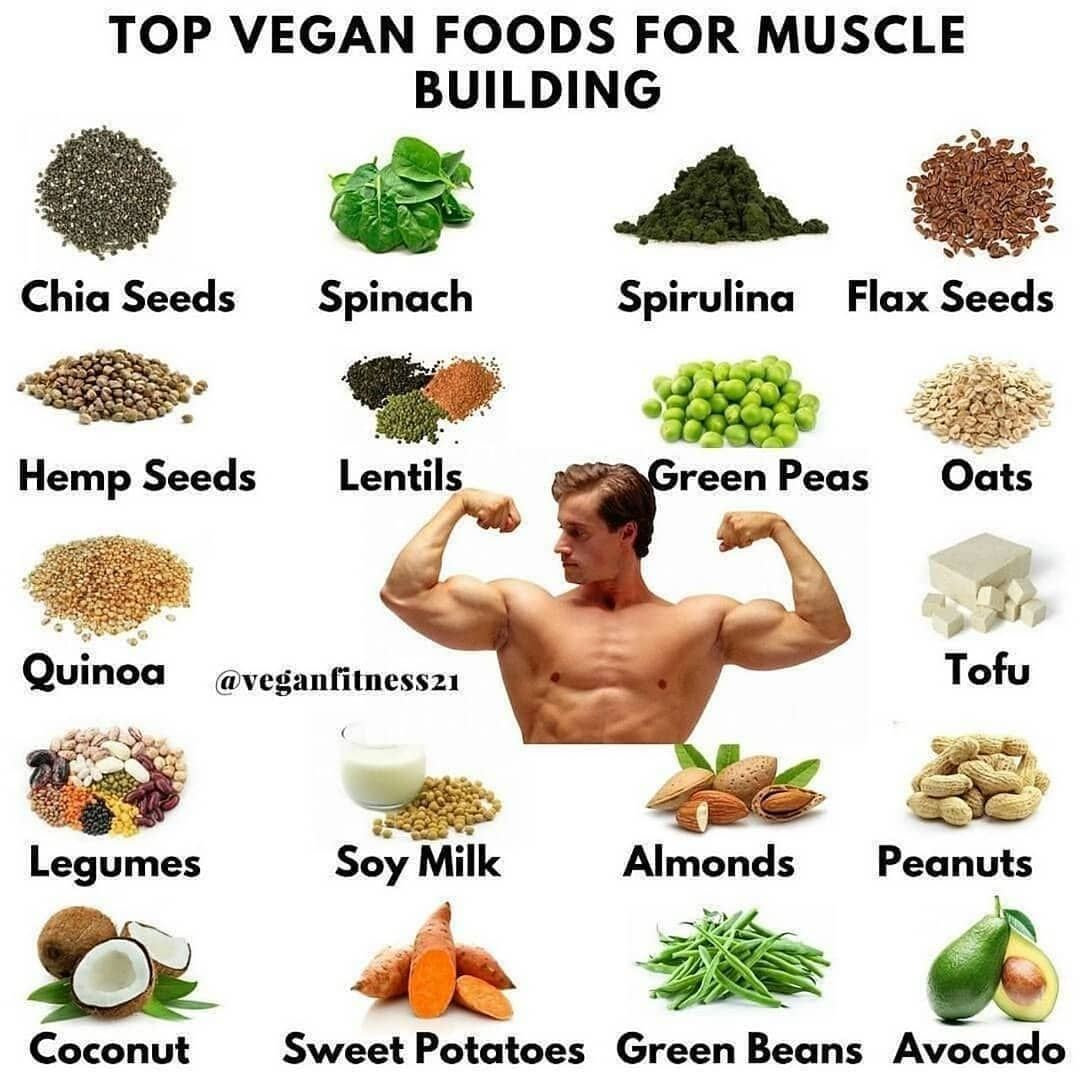 mass building vegan diet