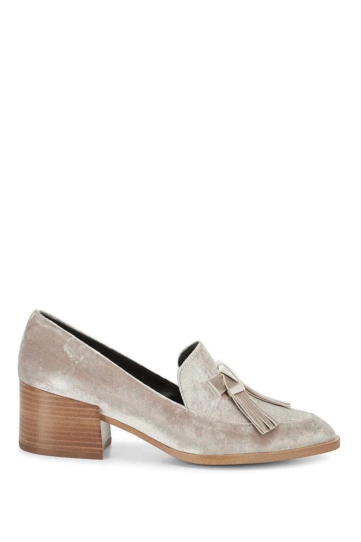 2a8747193a REBECCA MINKOFF Edie Velvet Loafer. #rebeccaminkoff #shoes ...