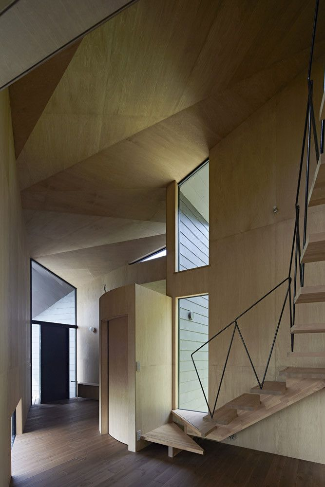 Gallery of Villa Escargot   Takeshi Hirobe Architects - 4 Villas - escalier interieur de villa