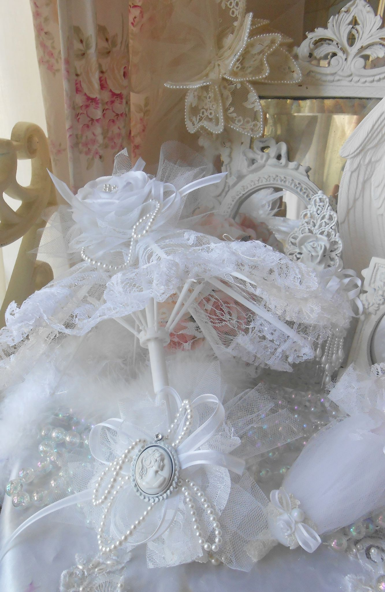 Bridal Victorian Parasol