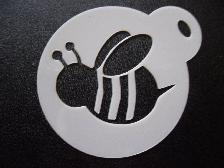 Unique Bespoke New Laser Cut Bumble Bee Cookie / Face