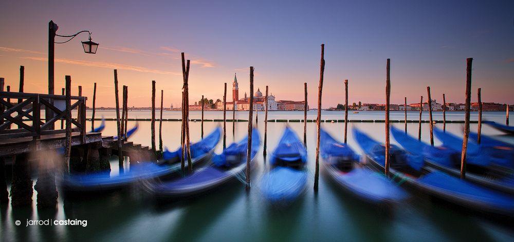 Italy - Venice - Gondolas at Sunrise | Flickr - Photo Sharing!