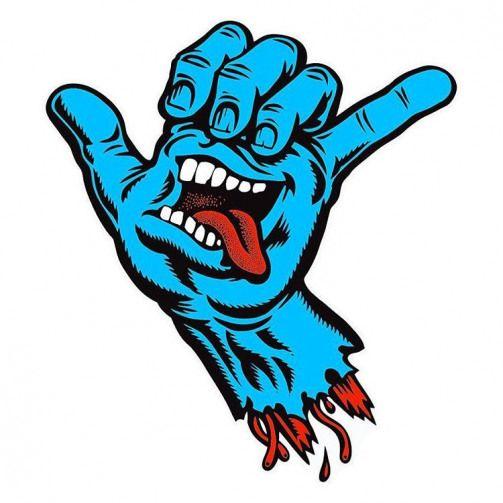 Coming Soon To Https Ift Tt O9q2zz Santacruzskateboards Screaminghand Shaka Skateboardstickers Hangloose Skatestickers Haw Skate Art Graffiti Art Art