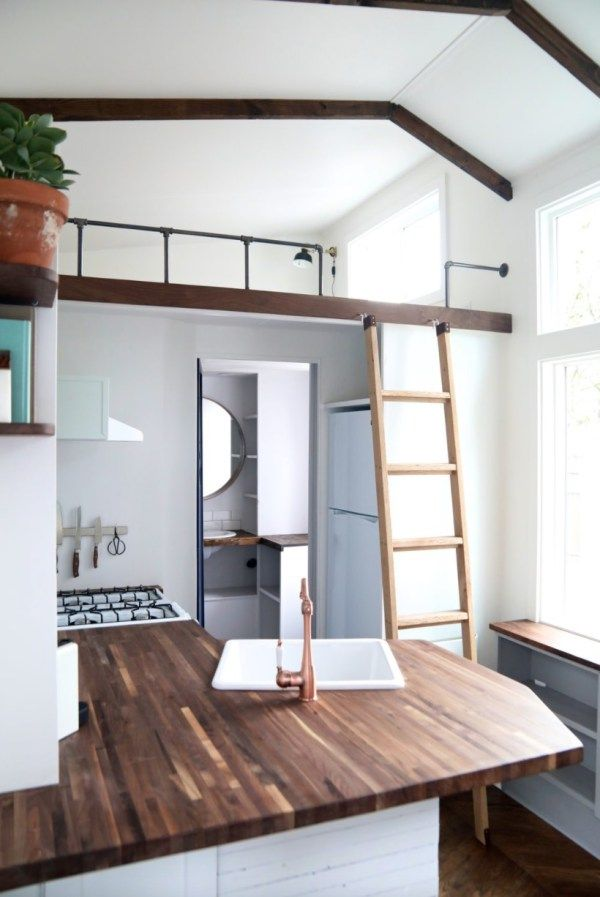 This is the 28ft Pacific Getaway Tiny House on Wheels by Handcrafted ...