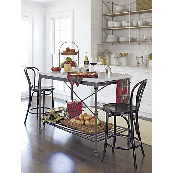French Kitchen Island In Kitchen Islands Carts Crate