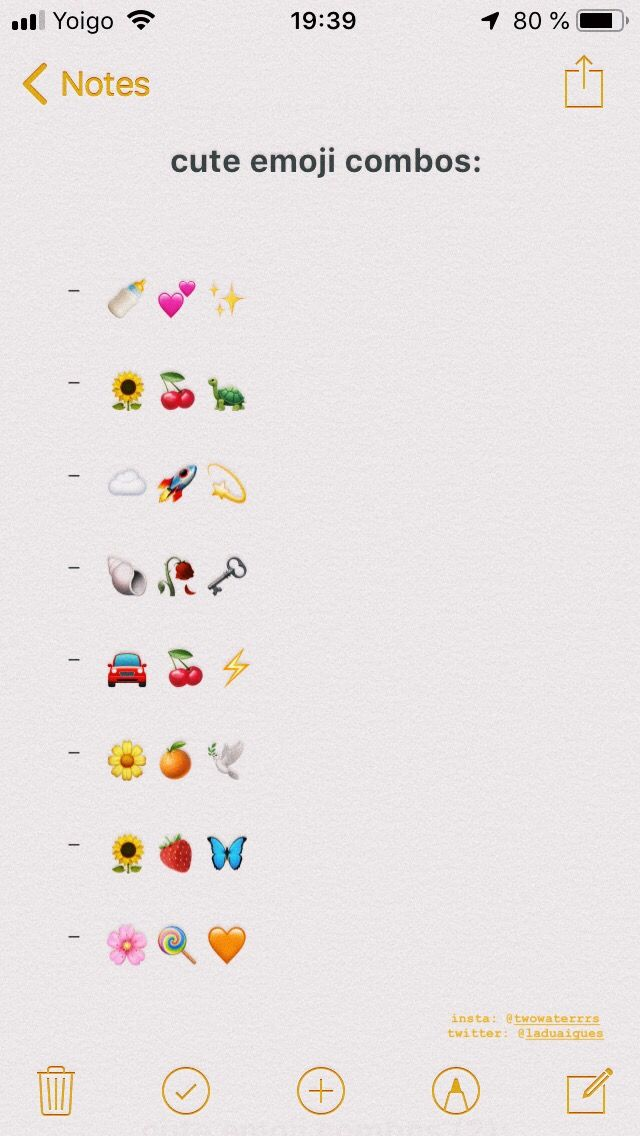 Cute Emoji Combos Cute Emoji Combinations Emoji Combinations Cute Emoji
