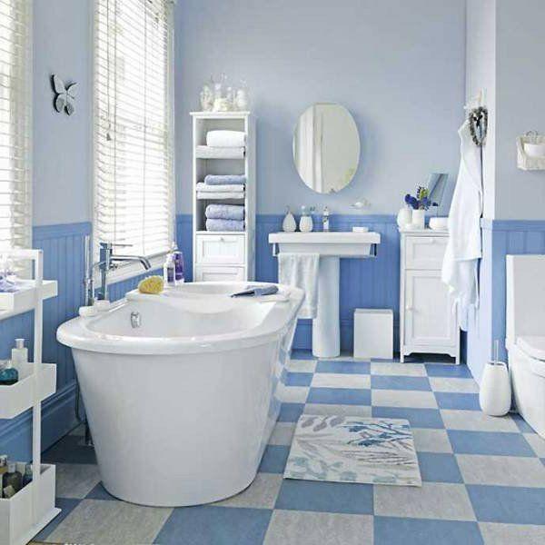 Propre Style En Bleu Classique