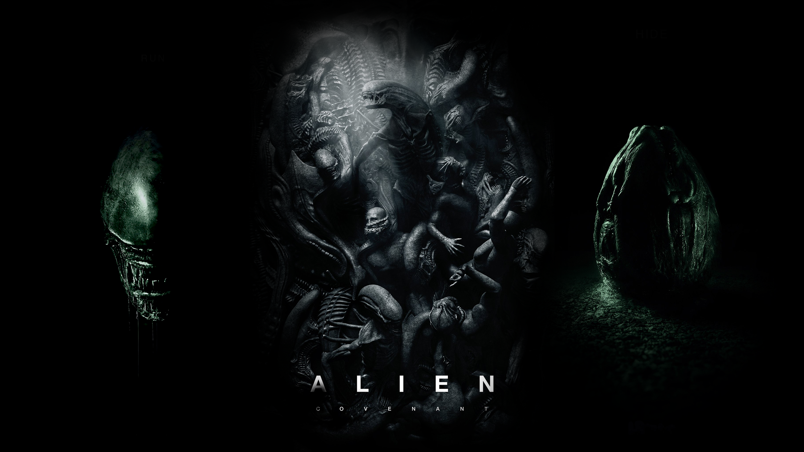 [2560x1440] Alien Covenant Alien, Hd wallpaper, Wallpaper